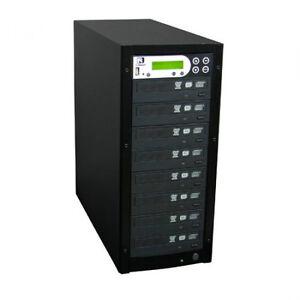 DVD Duplicator 1-7 Complete Tower w/ Burners *BRAND NEW*