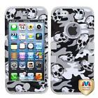iPhone 5 Rubber Skull Case