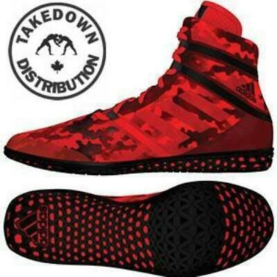 Adidas Shoe Wrestling Flying Impact Camo Red