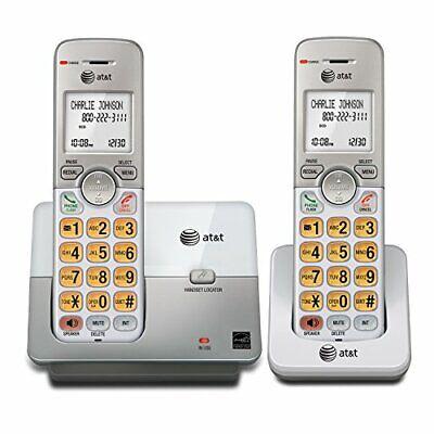 Cordless Telephone 2 Pc Landline Portable Wireless Mobile Best Home Office