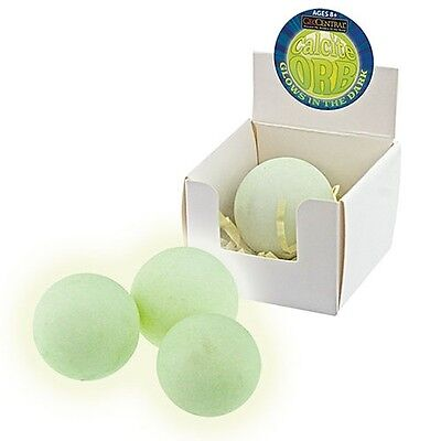 Green Calcite Rock Mineral Glow in the Dark Sphere Sold each