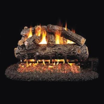 """30"""" Real Fyre Rustic Oak Designer Vented Gas Logs Only"""