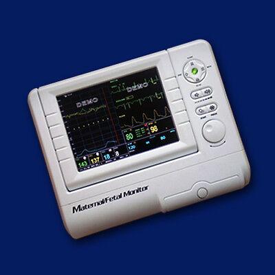 Contec Cms800f Maternalfetal Patient Monitor Fhrtocoecgnibpspo2 Printer