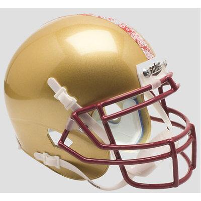 BOSTON COLLEGE EAGLES (Gold Alternate) Schutt XP Mini Helmet