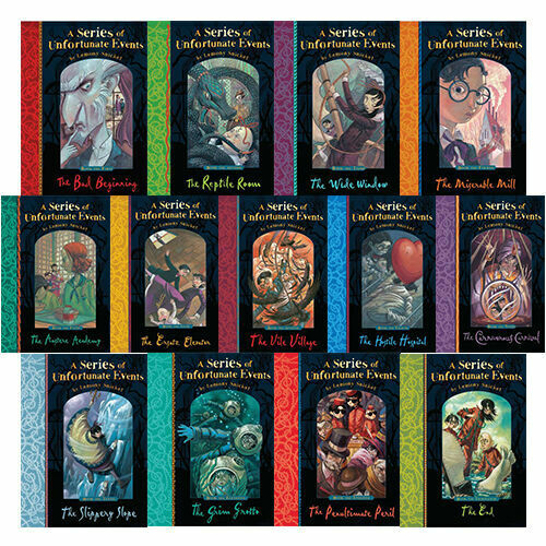 Series Of Unfortunate Events 13 Books Young Adult Collection Paperback By  Lemony | eBay