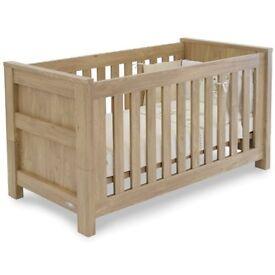 Charnwood cot/cot-bed & shelf