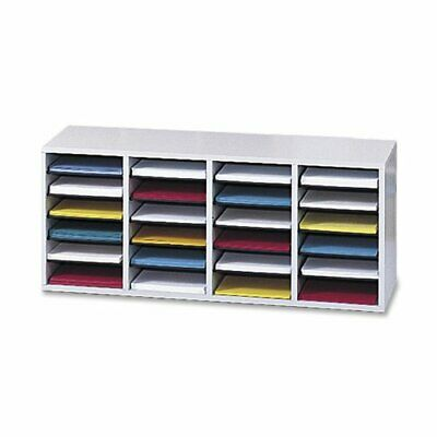 Safco 24 Compartment Adjustable Shelves Literature Organizer - 16.4 Height X