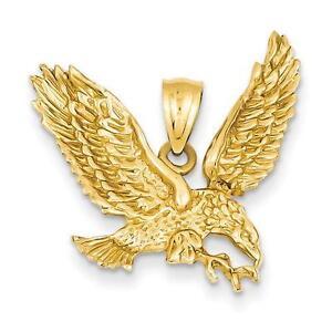 Eagle pendant ebay gold eagle pendant aloadofball Images