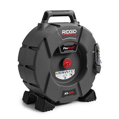 Ridgid K9-204 64273 Flexshaft Drain Cleaning Machine With 70 Cable