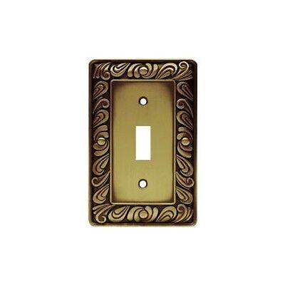 Lot of 3 Brainerd  Paisley Single Switch Wall Plate / Switch Plate / Covers - Brainerd Paisley Single