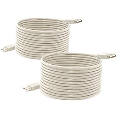 Abacus 24-7 : USB 2.0 A/A M/F Extension Cable: 15 ft: Valu 2-Pak