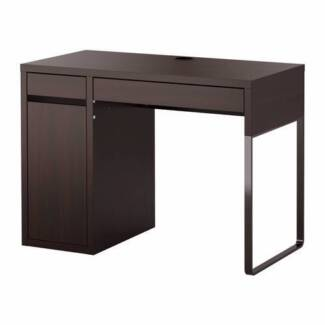 SALE BEFORE LEAVING OZ!!! OFFICE DESK - black stationery desk Lane Cove North Lane Cove Area Preview