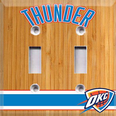 Basketball Oklahoma City Thunder  Light Switch Cover Choose Your Cover](Basketball Light)