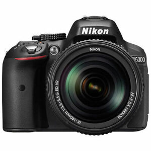 Nikon D5300 DSLR Camera with 18-55mm VR Lens Kit