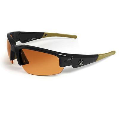New Orleans Saints HD High Definition Dynasty 2.0 Premium Team Sunglasses MAXX