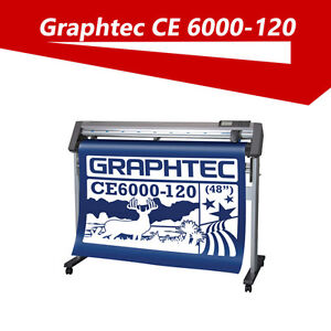 "Graphtec CE6000-120 48"" Vinyl cutter plotter MAC/ PC Sensor"