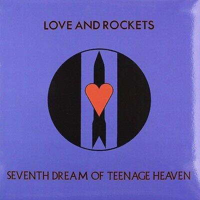 Love and Rockets - Seventh Dream of Teenage Heaven [New Vinyl] Blue, Ltd Ed