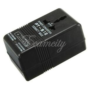 Power Converter Adapter AC 110V/120V to 220V/240V Up Down Volt Transformer 100W