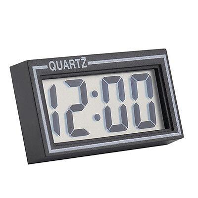 Digital LCD Table Auto Car Dashboard Desk Date Time Calendar Small Clock Healthy