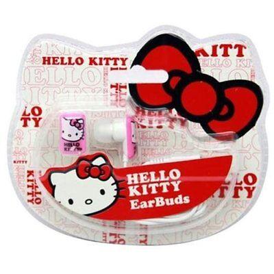 Hello Kitty 11409-HK Earbuds Headphones Pink  11409N-HK