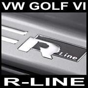 Einstiegsleisten Golf 6