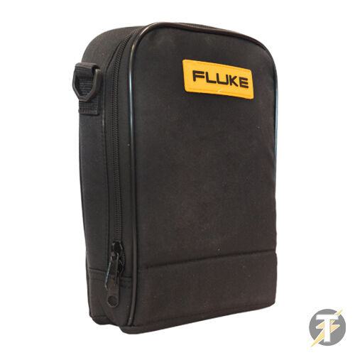 Genuine Fluke C115 Padded Protective Carry Case for Clamp Meters, Thermometers