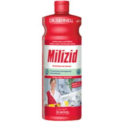 Dr. Schnell Milizid 1l Sanitärreiniger und Kalklöser Konzentrat Reinigungsmittel