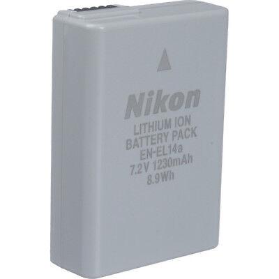 Nikon EN-EL14A Rechargeable Li-Ion Battery for Select Nikon Cameras