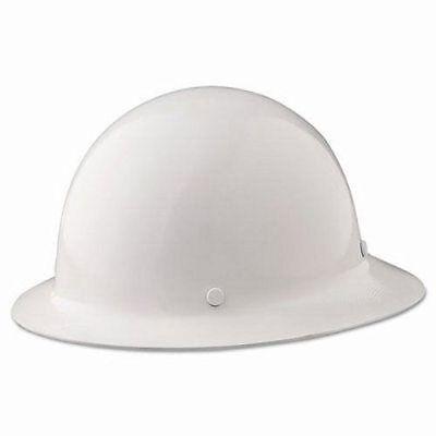 New Msa - 475408 - Skullgard Protective Hat W Fas-trac Suspension White