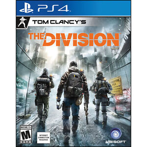 PS4 The Division, mint condition