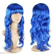 Blue Cosplay Wig