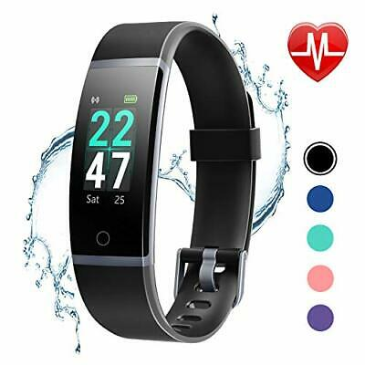 fitness tracker heart rate monitor watch ip68