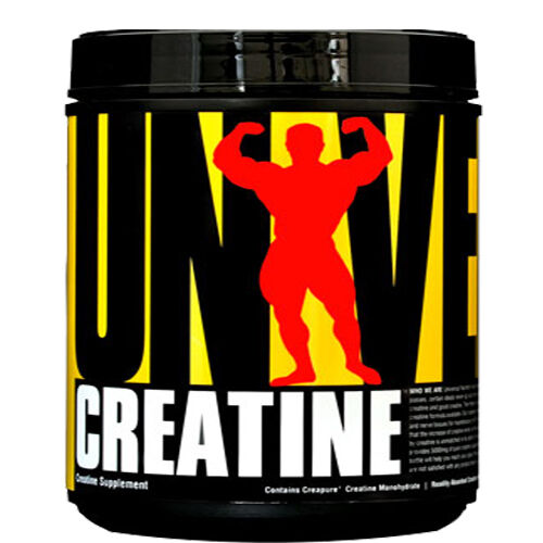 Universal Nutrition Creatine 500 g Creatin Kreatin Monohydrat 100 Portionen