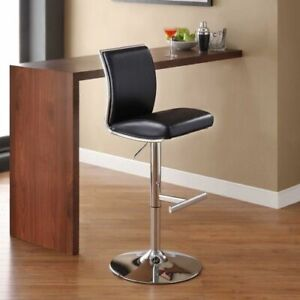 2x Whalen Navigator Leather Bar Stools for $150