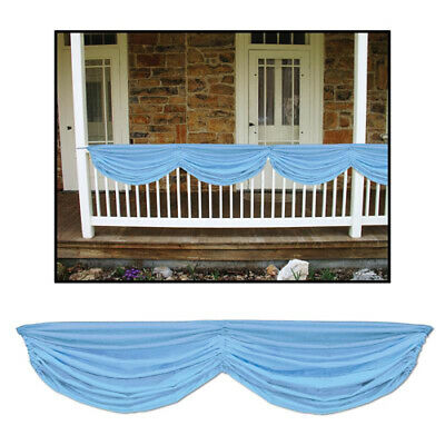 Light Blue Baby Shower Fabric Bunting](Blue Bunting Fabric)