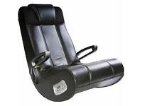 X Rocker gaming chair Great Condition built in Speaker foldable with adjustable armrests £35.00