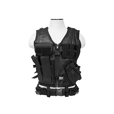 Army SWAT SEAL TEAM 6 TACTICAL Military Vest Halloween Costume Mens SZ L - XL - Swat Vest Costume