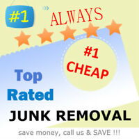 #1 BEST price @ 647-989-5865 = CHEAP Junk + garbage removal
