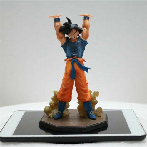 "Dragon Ball Z Goku Son Gokou Genki Dama Spirit Bomb Statue Figure 14/"" LED Lamp"