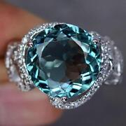 Aquamarine Ring Size P