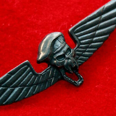 """SPECIAL FORCES WINGS WINGED SKULL BERET BADGE MILITARY INSIGNIA METAL PIN 2.75""""L"""