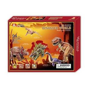 3D Puzzles Dinosaurs x 5 Cardboard Jigsaws NEW Toy SALE Yarramalong Wyong Area Preview