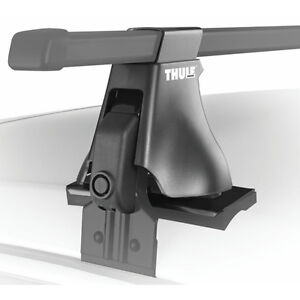 """Thule Roof Rack - two 50"""" adjustable load bars with clamps"""