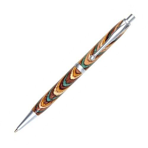 Comfort Pencil - Southwest Color Grain, Brushed Satin Plating
