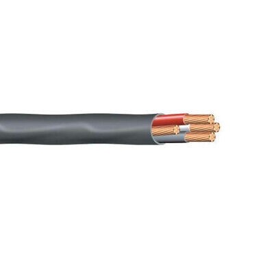 10 43 Nm-b Wire With Ground Romex Non-metallic Sheathed Cable Black 600v