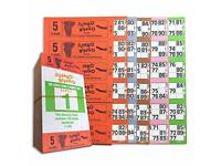 3 GAME BINGO BOOKS //TICKETS 150 Books  25 strips of 6 to view FAST P/&P