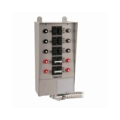 Reliance Controls Corporation 310d Manual Transfer Switch