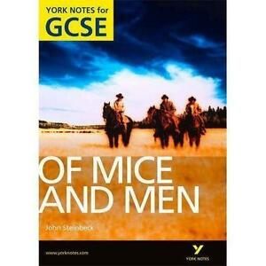 mice and men gcse coursework Of mice and men model paragraphs with grade descriptors and annotation for  improvements model paragraphs  aqa gcse english language paper 1  in  this pack: a/a coursework and marking exemplars to be put on the wall + bonus .