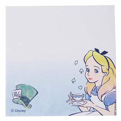 Sun-star Disney Alice In Wonderland Sticky Note Memo Made In Japan Ua57112