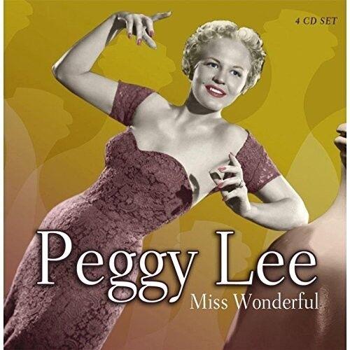 PEGGY LEE - MISS WONDERFUL 4 CD NEU